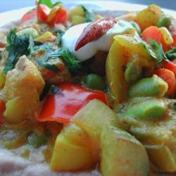 Curried Mixed Vegetables recipe