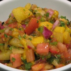 Fruit Salsa With Pineapple and Mango recipe