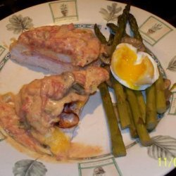 Asparagus Spears With Egg recipe
