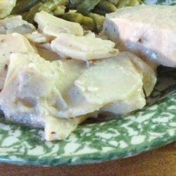Manuel's Crock Pot Pork Chops and Potatoes in Mustard Sauce recipe