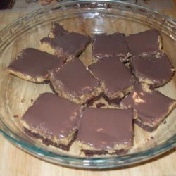 Reese's Peanut Butter Squares (No Bake) recipe