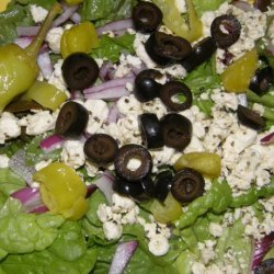 chic to Be Greek  Salad , from Salad Creations recipe
