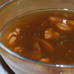 Mushroom Walnut Gravy Copycat from the Spot Natural Food Restaur recipe