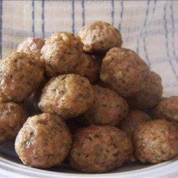 Microwave Meatballs recipe