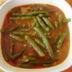 Egyptian Green Beans in Tomato Sauce recipe