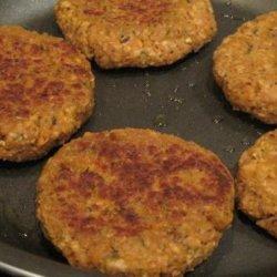 Vegan Nutritional Yeast and Tvp Veggie Burgers recipe