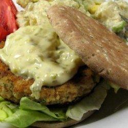 Fish Burgers With Fresh Herbs recipe