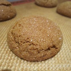 Heavenly Scented Soft Ginger Cookies recipe