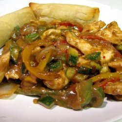 Peanut Chicken Stir Fry recipe