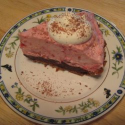 Chocolate Raspberry Mousse Pie recipe