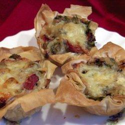 Chicken Phyllo Mini Tarts recipe