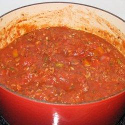 Cheesy Layered Baked Spaghetti Casserole recipe