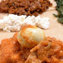 Doro Wat (Spicy Chicken Stew) recipe