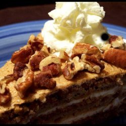 Austrian Walnut Torte With Coffee Whipped Cream recipe