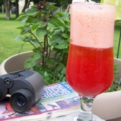 Fresh Lime Soda With Berries recipe