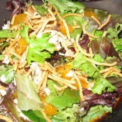 Oriental Chicken Mandarin Salad recipe