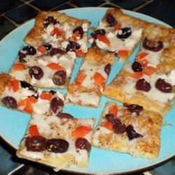 White Pizza Appetizers (Puff Pastry) recipe