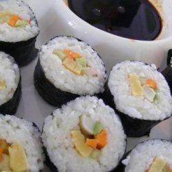Egg Filling for Sushi recipe