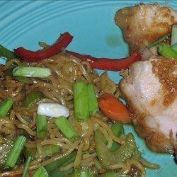 Spicy Barbecued Pork Tenderloins With Garlic Sauce recipe