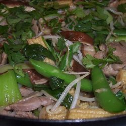 Pork and Vegetable Stir Fry recipe