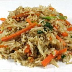 Thai Fried Rice with Vegetable Ribbons recipe
