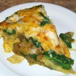 Leek, Potato & Spinach Frittata recipe