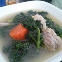 Chicken Kale Soup recipe