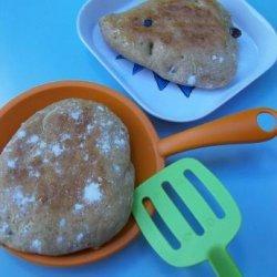 Apple Cinnamon Raisin Pitas (Bread Machine) recipe