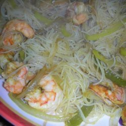 Stir-Fried Rice Noodles With Curried Shrimp - America's Test Kit recipe