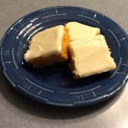 Colonial Pumpkin Bars With Cream Cheese Frosting recipe