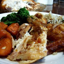 Slow Cooker Chicken in a Pot recipe
