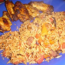 Egyptian Rice With Spicy Tomato Sauce recipe
