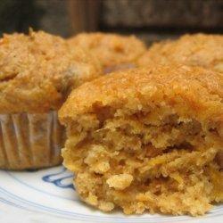 Whole Wheat Sweet Potato Muffins recipe