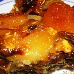 Lela Kornberg's Upside-Down Apricot Pudding recipe