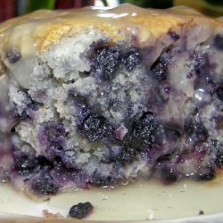 Blueberry Pudding With Hard Sauce recipe