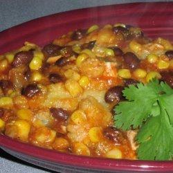 Ww Chicken , Black Bean, and Corn Enchilada Casserole recipe