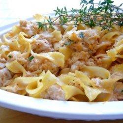 Grown-Up  tuna , (Now) Crab Casserole recipe