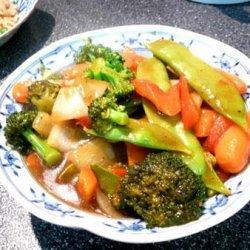 Veggie Stir Fry for One recipe