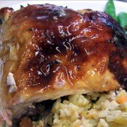 Orange Ginger Brined Chicken recipe