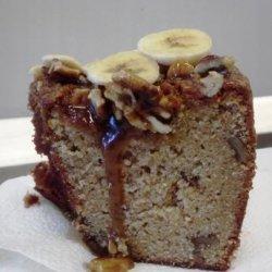 Banana Pound Cake With a Caramel Glaze recipe
