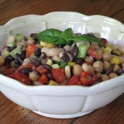 Low Fat Bean Salad recipe