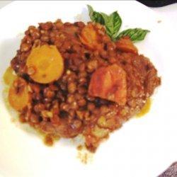 Lamb and Lentil Curry recipe