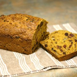 Cranberry Walnut Pumpkin Bread recipe