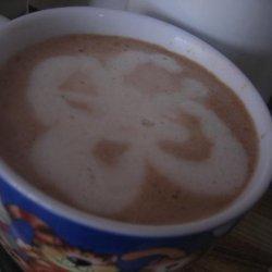 Chocolate Peanut Butter Pie Latte recipe