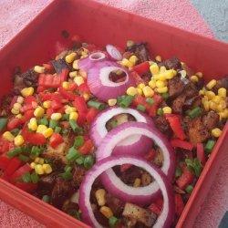 Colorful Corn Salad recipe