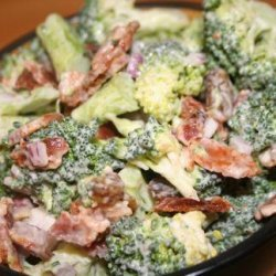 Hope's Broccoli Salad recipe
