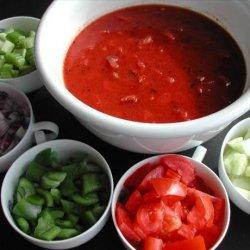 Easy Gazpacho recipe