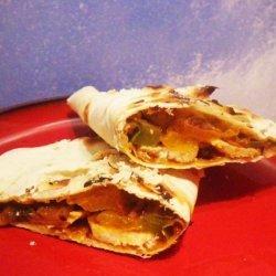 Roasted Chicken Burritos recipe
