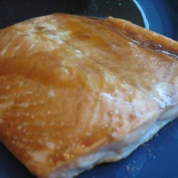 Salmon Fillet with Soy Glaze recipe
