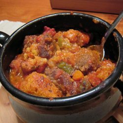 Chuck Wagon Stew With Cornmeal Dumplings recipe